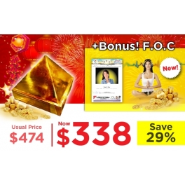 CNY Promo! Prosperity Energy Pyramid