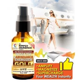 Quantum-Charged Wealth Energizer GOLD (WEG) 30ml