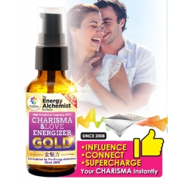 Quantum-Charged Charisma & Love GOLD 30ml HVF Energizer