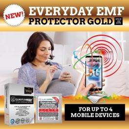Everyday EMF Protector GOLD Stick-On App (SOA) U.P. $90- NOW $75