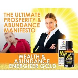 Wealth & Abundance Energizer GOLD (WEG) 10ml