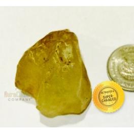 Golden Libyan tektite (small)